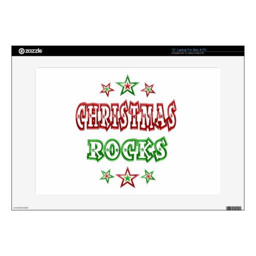 Rocas del navidad portátil 38,1cm skin