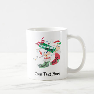 Rocas del navidad tazas de café