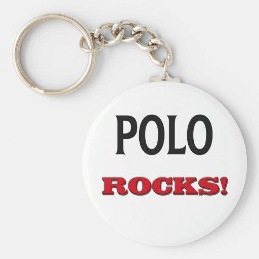 Rocas del polo llaveros personalizados