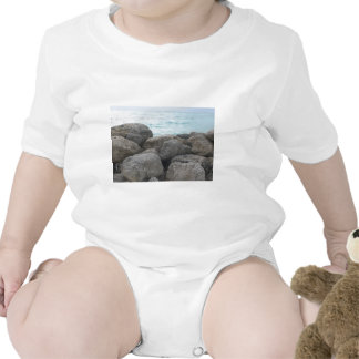 Rocas del puerto franco trajes de bebé