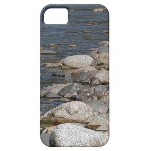 Rocas del río iPhone 5 carcasa