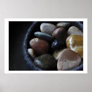Rocas del río póster