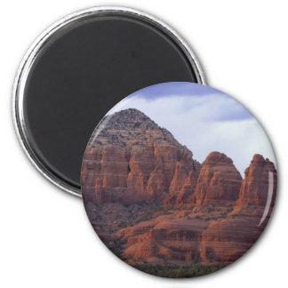 Rocas del rojo de Arizona Imán Redondo 5 Cm