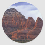 Rocas del rojo de Arizona Pegatina Redonda