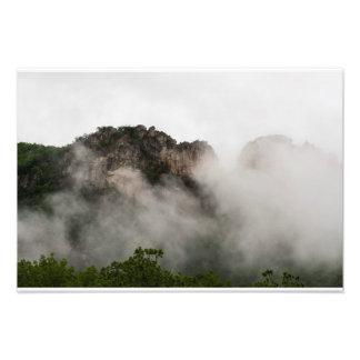 Rocas del Seneca, Virginia Occidental Impresion Fotografica