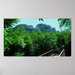 Rocas del Seneca, Virginia Occidental Posters