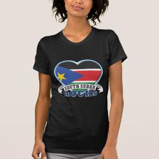 Rocas del sur de Sudán Camisetas