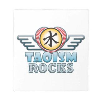 Rocas del Taoism Blocs De Papel