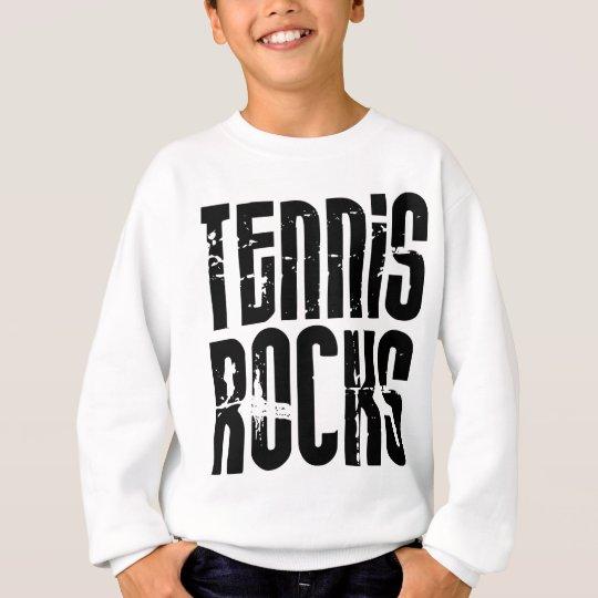 Rocas del tenis sudadera