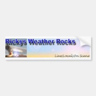 Rocas del tiempo del RWR el   Rickys Pegatina Para Auto
