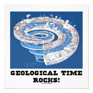 ¡Rocas del tiempo geológico Edad geológica Anuncio Personalizado