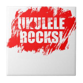 ¡Rocas del Ukulele! Teja Cerámica