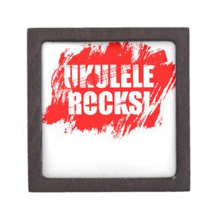¡Rocas del Ukulele! Cajas De Joyas De Calidad