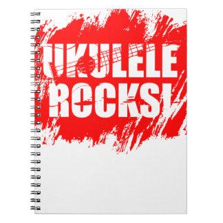 ¡Rocas del Ukulele! Libro De Apuntes