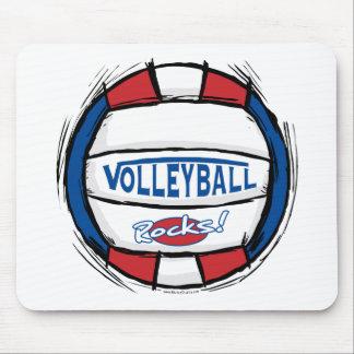 Rocas del voleibol alfombrillas de ratones