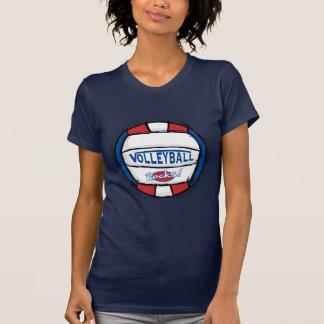 Rocas del voleibol camisetas