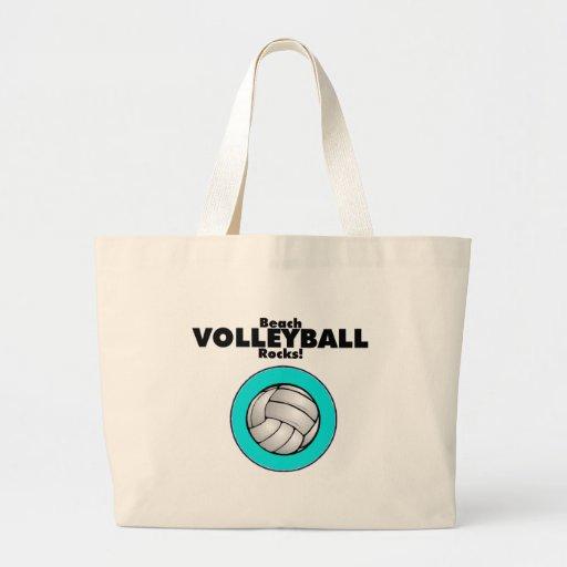 Rocas del voleibol de playa bolsa