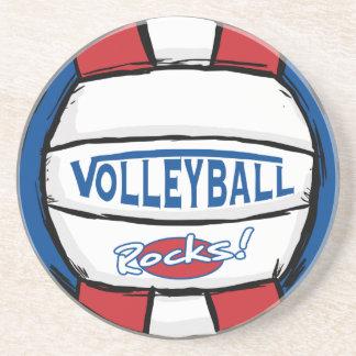 Rocas del voleibol posavasos manualidades