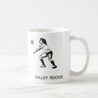 ¡ROCAS DEL VOLEIBOL! Taza de café
