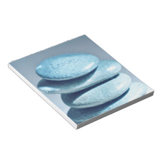 Rocas del zen bloc de papel