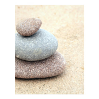 "Rocas del zen folleto 8.5"" x 11"""