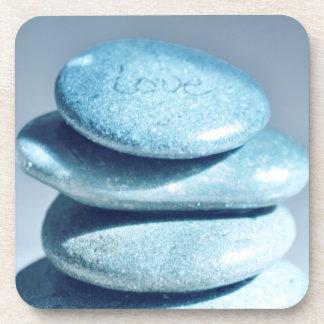 Rocas del zen posavasos de bebida