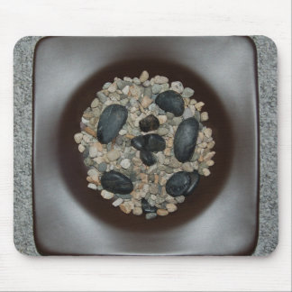Rocas en cojín de ratón del cuenco alfombrilla de ratones