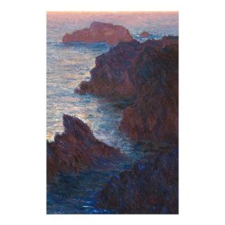 Rocas en la Belleza-lle, Puerto-Domois de Claude Papelería