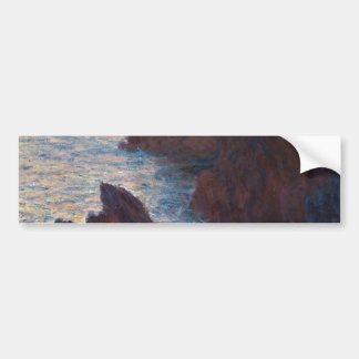 Rocas en la Belleza-lle, Puerto-Domois de Claude Pegatina Para Auto