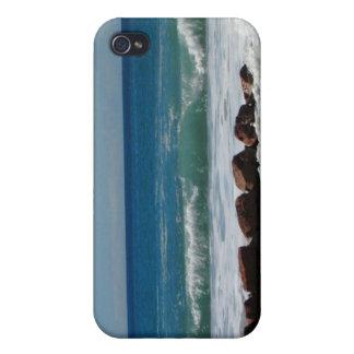 Rocas en la playa; Ningún texto iPhone 4/4S Carcasas