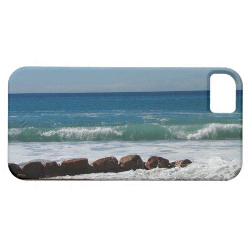 Rocas en la playa; Ningún texto iPhone 5 Fundas
