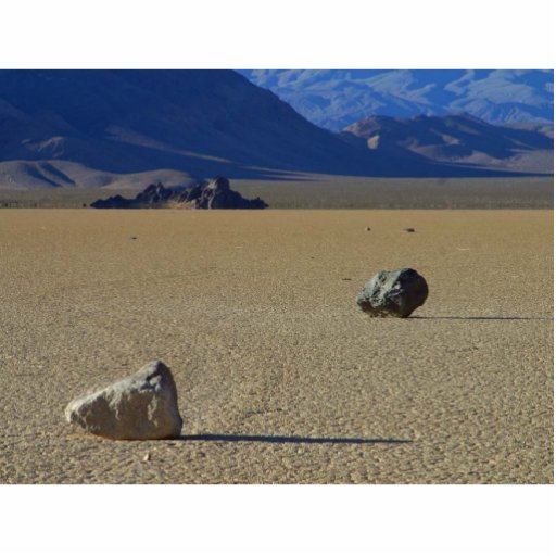 Rocas en la tierra esculturas fotográficas