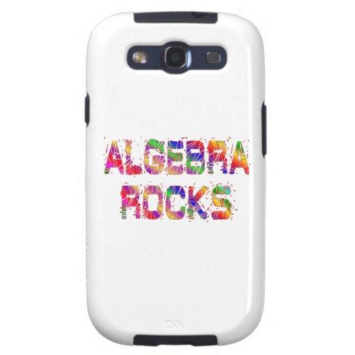 Rocas enérgicas de la álgebra galaxy s3 funda