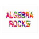 Rocas enérgicas de la álgebra postales