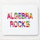 Rocas enérgicas de la álgebra alfombrillas de raton