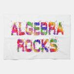 Rocas enérgicas de la álgebra toallas de mano