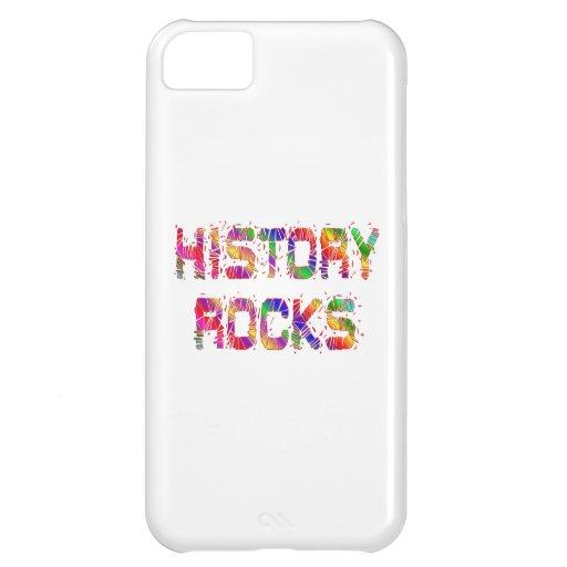 Rocas enérgicas de la historia