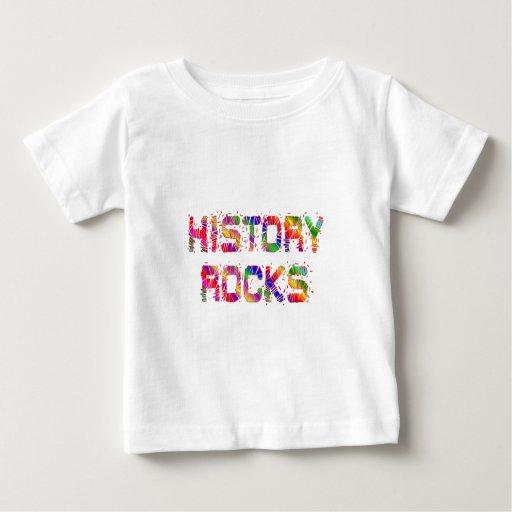 Rocas enérgicas de la historia playera