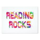 Rocas enérgicas de la lectura anuncios personalizados