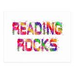 Rocas enérgicas de la lectura postal