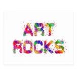 Rocas enérgicas del arte postal