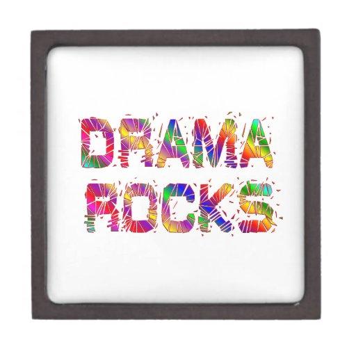 Rocas enérgicas del drama cajas de recuerdo de calidad