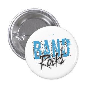 Rocas enrrolladas de la banda del Grunge Pin Redondo De 1 Pulgada