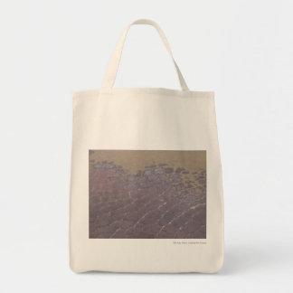 Rocas escamosas bolsas lienzo