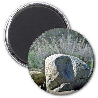 Rocas fracturadas imán de frigorífico