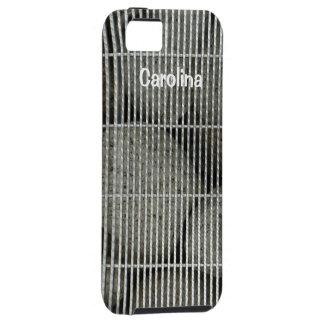 Rocas frescas de las piedras detrás del caso del funda para iPhone 5 tough