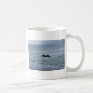 Rocas gemelas tazas de café