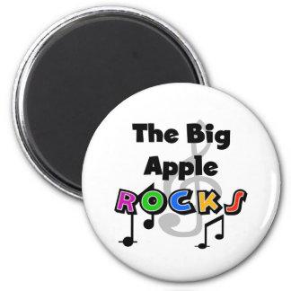 Rocas grandes de Apple Imán Para Frigorifico