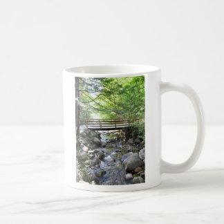 Rocas lisas de la pasarela en una taza de la