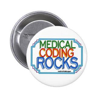 Rocas médicas de la codificación pins
